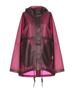 Легкое пальто HUNTER. Цвет: красно-коричневый