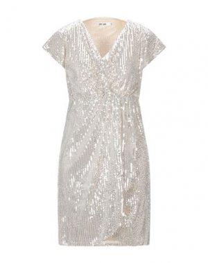 Короткое платье DRY LAKE.. Цвет: бежевый