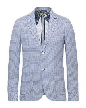 Пиджак NEILL KATTER. Цвет: небесно-голубой