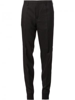 Классические брюки Lanvin. Цвет: чёрный