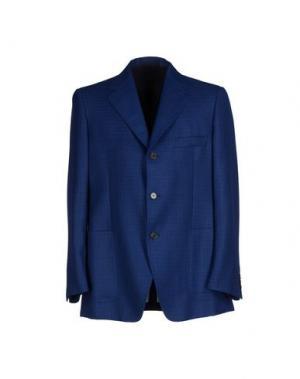 Пиджак AQUASCUTUM. Цвет: синий