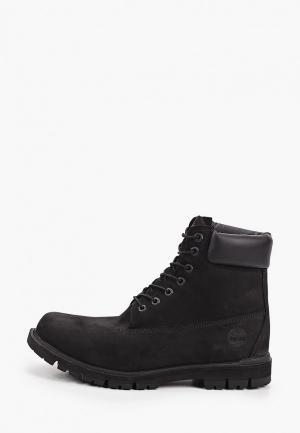 Тимберленды Timberland Radford 6 Boot WP BLACK. Цвет: черный
