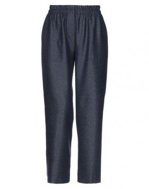 Повседневные брюки VIA MASINI 80. Цвет: темно-синий