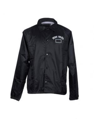 Куртка FRESHJIVE. Цвет: черный