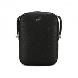 Кожаная сумка Dunhill. Цвет: чёрный