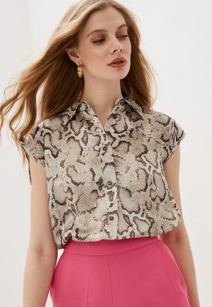 Блуза Pinko. Цвет: бежевый