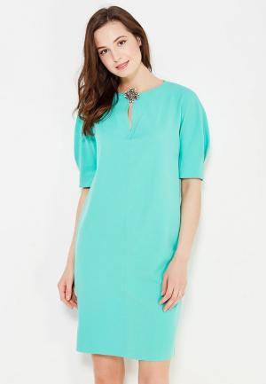 Платье Levall. Цвет: бирюзовый