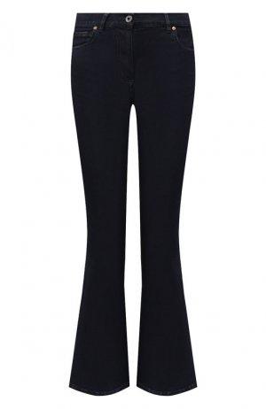 Расклешенные джинсы Valentino. Цвет: синий