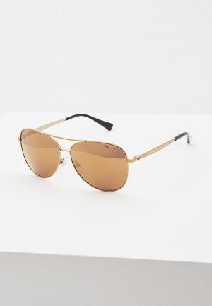 Очки солнцезащитные Ralph Lauren RA4125 93577D. Цвет: золотой
