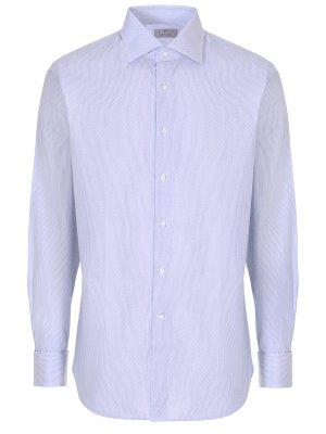 Рубашка Regular Fit под запонки CANALI