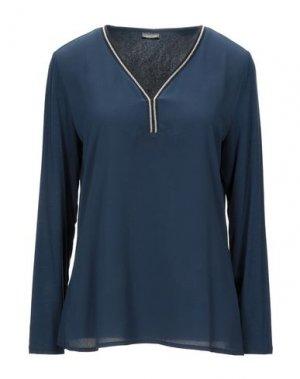 Блузка BARBARA LEBEK. Цвет: темно-синий