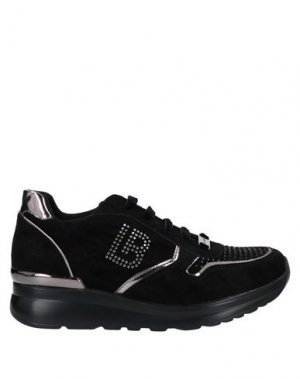 Низкие кеды и кроссовки LAURA BIAGIOTTI. Цвет: черный