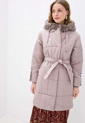 Куртка утепленная Dimma. Цвет: бежевый