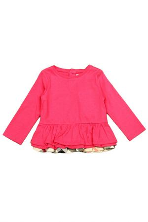 Майка BURBERRY CHILD. Цвет: розовый