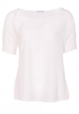 Блуза FLAVIO CASTELLANI. Цвет: белый