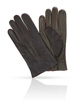 Перчатки MICHEL KATANA`. Цвет: темно-синий