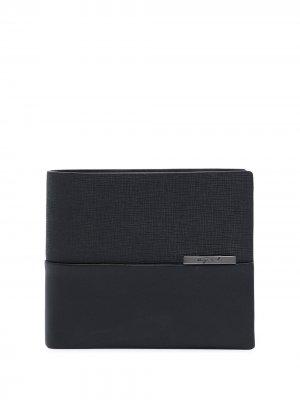 Складной бумажник agnès b.. Цвет: черный