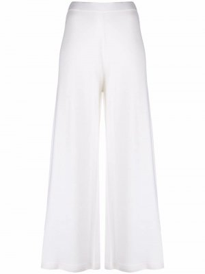 Широкие брюки Allude. Цвет: белый