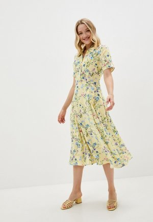 Платье Belucci. Цвет: желтый