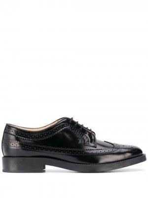Tods броги на шнуровке Tod's. Цвет: черный