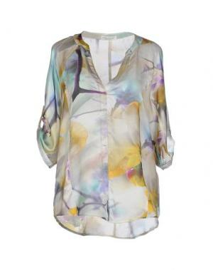 Блузка HOLLY GOLIGHTLY. Цвет: бежевый