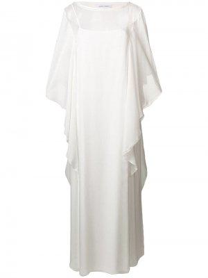 Длинное платье с драпировкой Alberta Ferretti