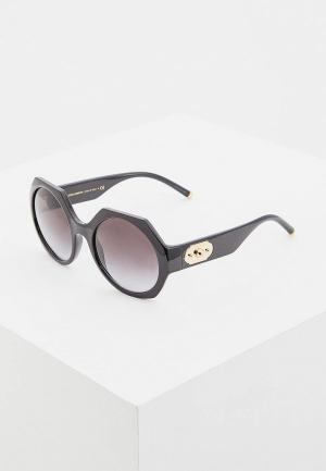 Очки солнцезащитные Dolce&Gabbana DG6120 501/8G. Цвет: черный