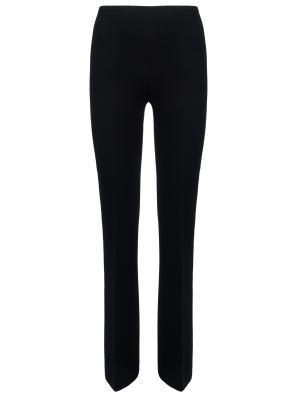 Шерстяные брюки Chapurin. Цвет: черный