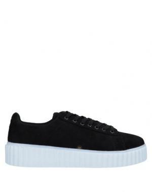 Низкие кеды и кроссовки AMUST. Цвет: черный