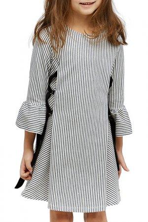 Платье Bell Bimbo. Цвет: узкая полоска