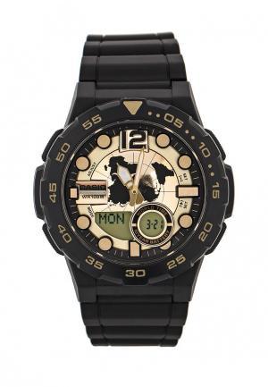 Часы Casio Collection AEQ-100BW-9A. Цвет: черный