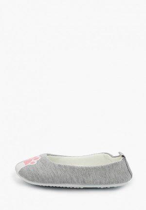 Тапочки T.Taccardi. Цвет: серый
