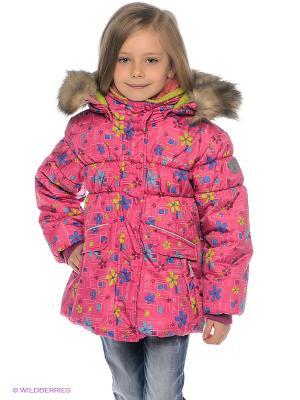 Куртка Kamik. Цвет: розовый, синий, салатовый