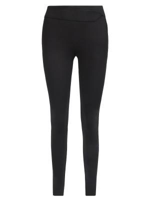 Зауженные брюки Anna Rita. Цвет: черный