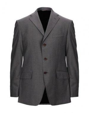 Пиджак JASPER REED. Цвет: темно-коричневый