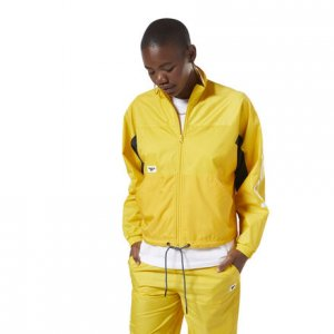 Олимпийка-кардиган CL A TRACKTOP Reebok. Цвет: toxic yellow