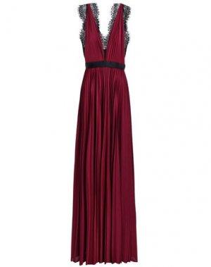 Длинное платье CATHERINE DEANE. Цвет: красно-коричневый