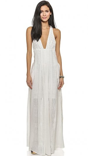 Макси-платье North Of Fira JETSET. Цвет: белый
