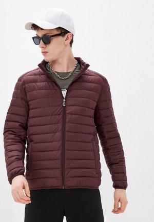 Куртка утепленная Jorg Weber. Цвет: бордовый