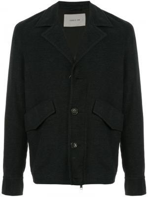 Куртка на пуговицах Cerruti 1881. Цвет: серый
