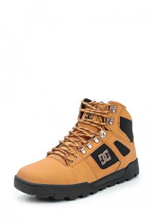 Ботинки DC Shoes SPARTAN HIGH WR. Цвет: коричневый