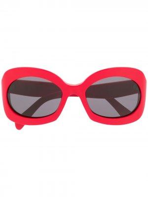 Солнцезащитные очки Butterfly Celine Eyewear. Цвет: красный