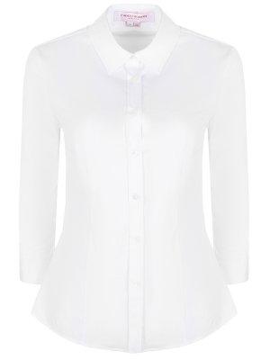 Хлопковая рубашка CAROLINA HERRERA
