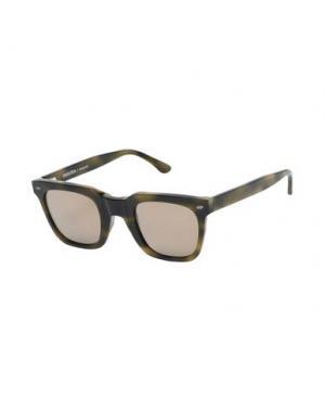 Солнечные очки MOVITRA. Цвет: зеленый-милитари