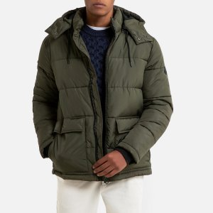 Куртка LaRedoute. Цвет: зеленый