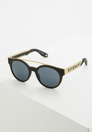 Очки солнцезащитные Givenchy GI007DUYAF53. Цвет: черный