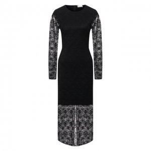 Платье REDVALENTINO. Цвет: чёрный