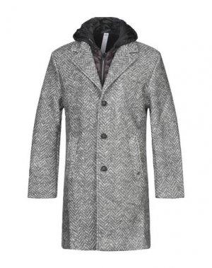 Пальто MASON'S. Цвет: серый
