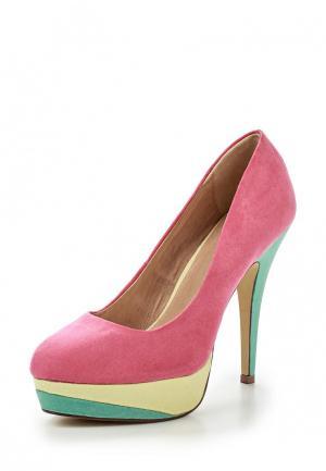 Туфли LA STRADA. Цвет: розовый