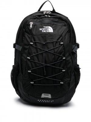 Рюкзак с вышитым логотипом The North Face. Цвет: черный